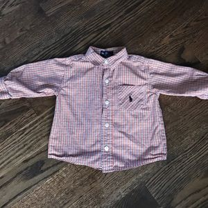 Ralph Lauren Polo button down size 12-18m